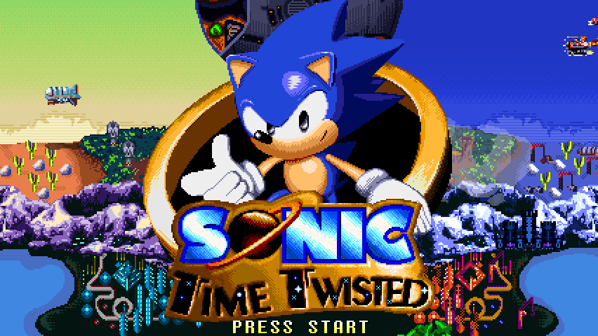 Sonic Time Twisted Releasing April 19, 2017